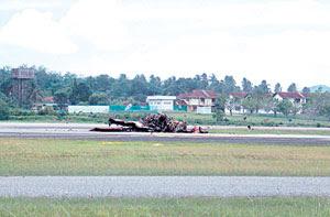 2 Juruterbang TUDM terbunuh, pesawat Pilatus terhempas di