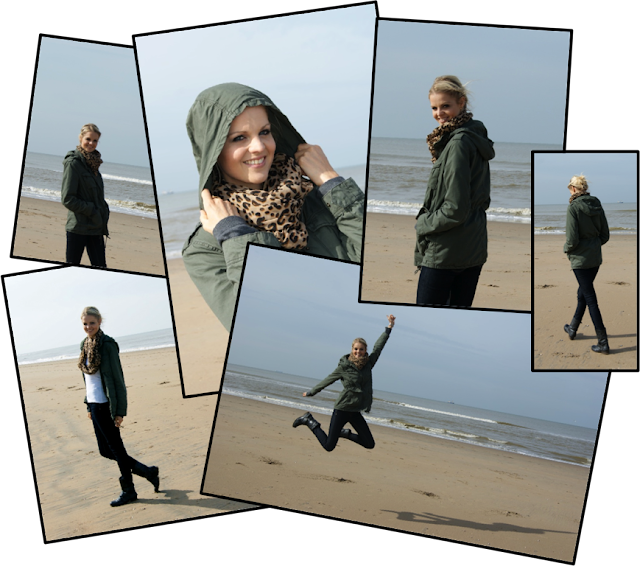 Collage4 Beach # OOTD