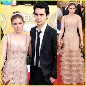 kate mara max minghella sag awards 748681 Best & Worst   2011 SAG Awards=