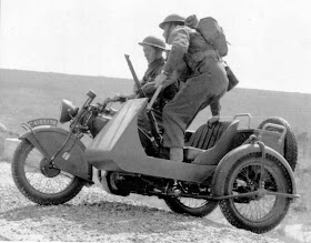 RoyalEnfields com: Enfield Military looks great with sidecar