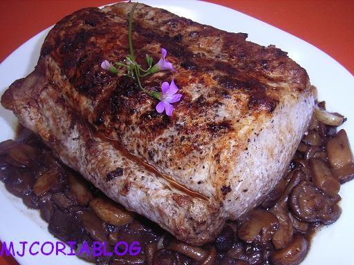 Mjcoriablog lomo al horno for Cocinar cinta de lomo al horno