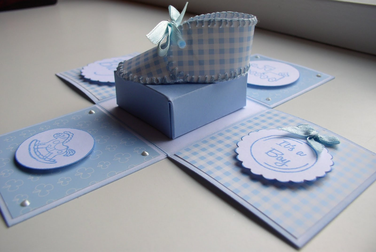 bedank doosjes voor de geboorte