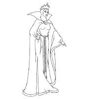 Dibujos Para Colorear De Princesas Blancanieves Imagesacolorier