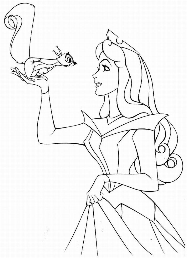 Imagenes De Las Princesas Disney Para Colorear