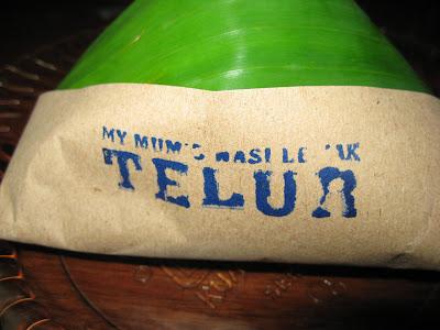 My Mum's Nasi Lemak Telur