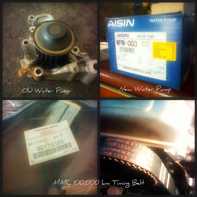 Proton Satria -  Water Pump & Timing Belt