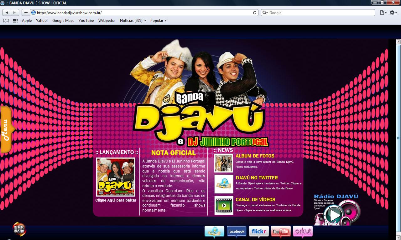 BANDA DJAVU JUNINHO 2014 BAIXAR E CD DJ PORTUGAL