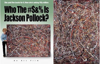 The woman who found a Pollock worth millions, paid $5 for it