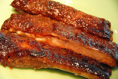 Ted's Memorial Day BBQ ribs