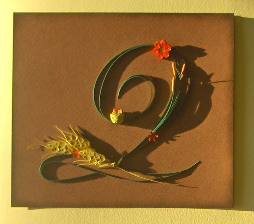 suzana+8 Quilling Letter Templates Designs on