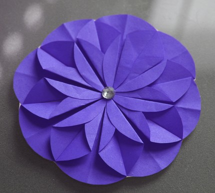 All things paper kusudama folded paper flowers kusudama folded paper flowers mightylinksfo