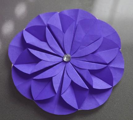 Kusudama folded paper flowers mightylinksfo