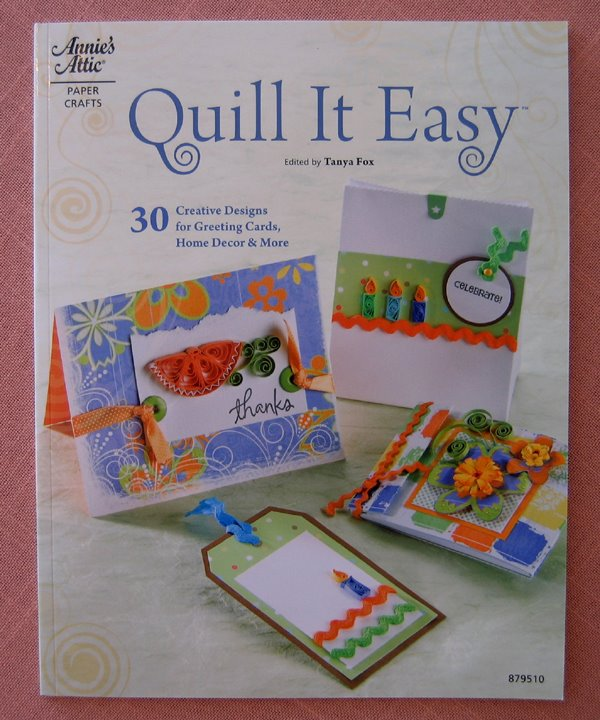 cover of Quill It Easy paperback how-to book