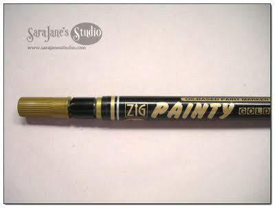 Zip Painty gold leafing pen