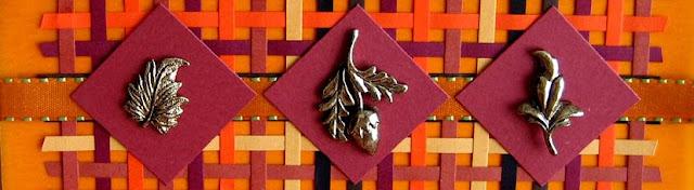 Woven Autumn Card Tutorial