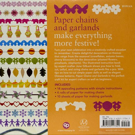 paper chains and garlands back cover