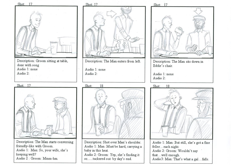 sherard callan: tavern storyboards 2