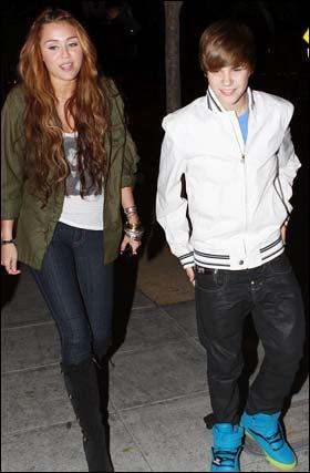 Miley cyrus justin bieber dating