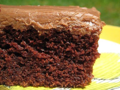 The Lyrical Soul Chocolate Sheath Cake