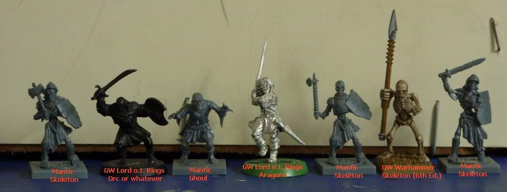 Miniatiure Mantic Vs Gw Wargamesforum It