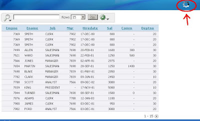 APEX Interactive Reports - Customize Wait Display Part 1