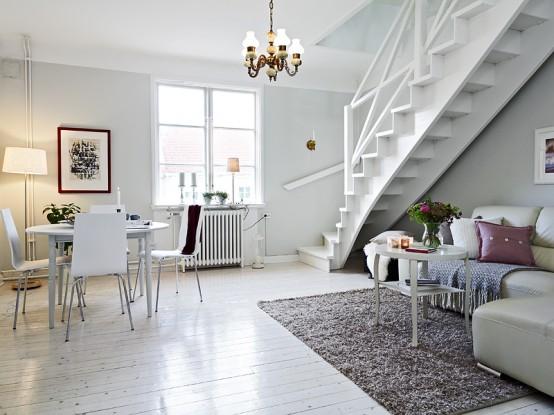 greatinteriordesig Duplex Apartment Interior That ...