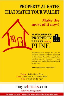 Ravi Karandeekar's Pune Real Estate Market News Blog: Magicbricks