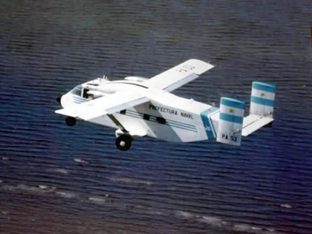 Resultado de imagen para Shorts aircraft + prefectura naval Argentina