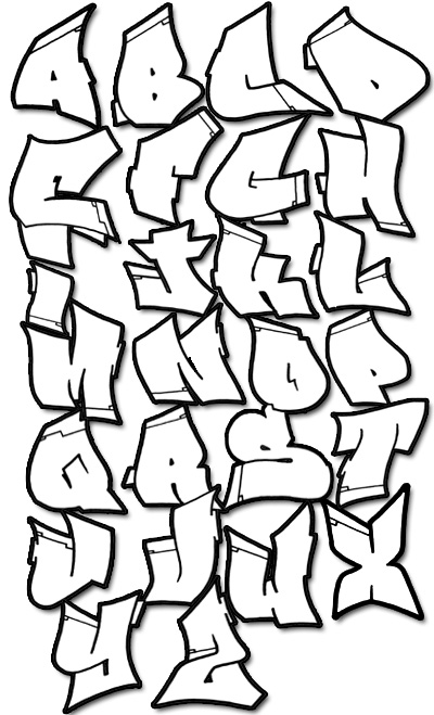 how to write a graffiti tagging