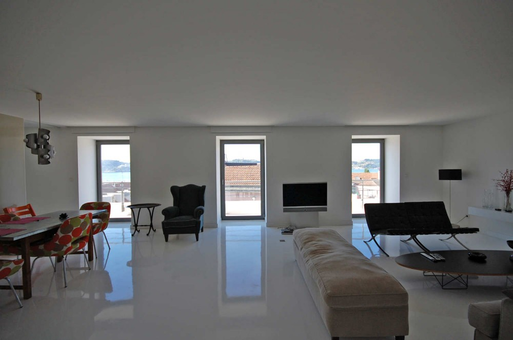 Abstract White Apartment : By Filipe Borges de Macedo ...