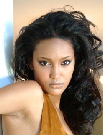 Classify Ethiopian actress and model Sayat Demissie