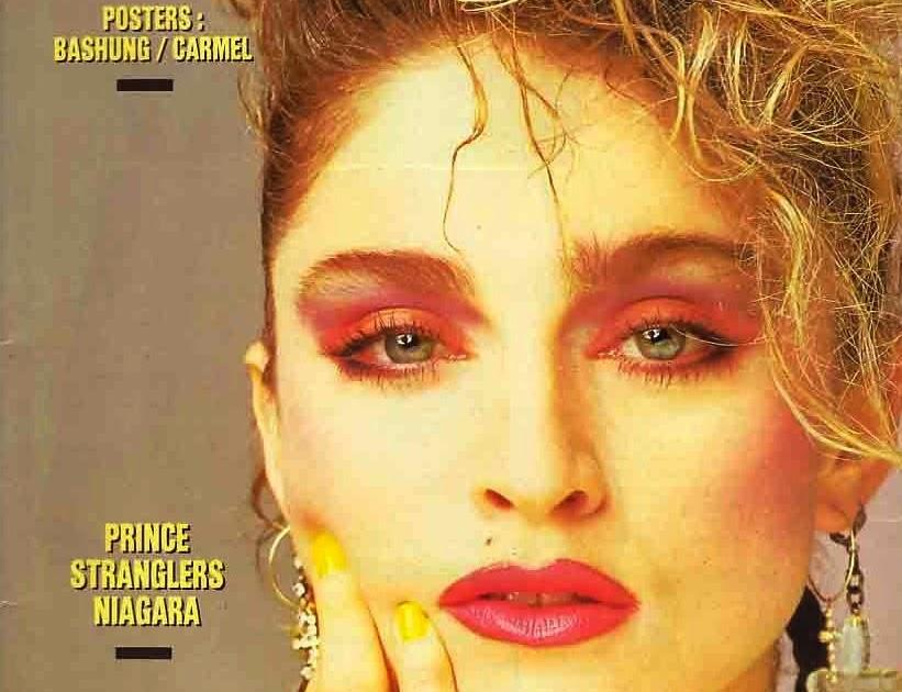 Pud Whackers Madonna Scrapbook Best Magazine March 1987