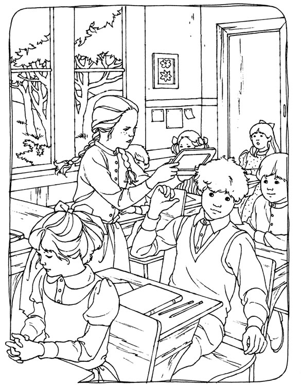 Free colonial life coloring pages for Colonial coloring pages