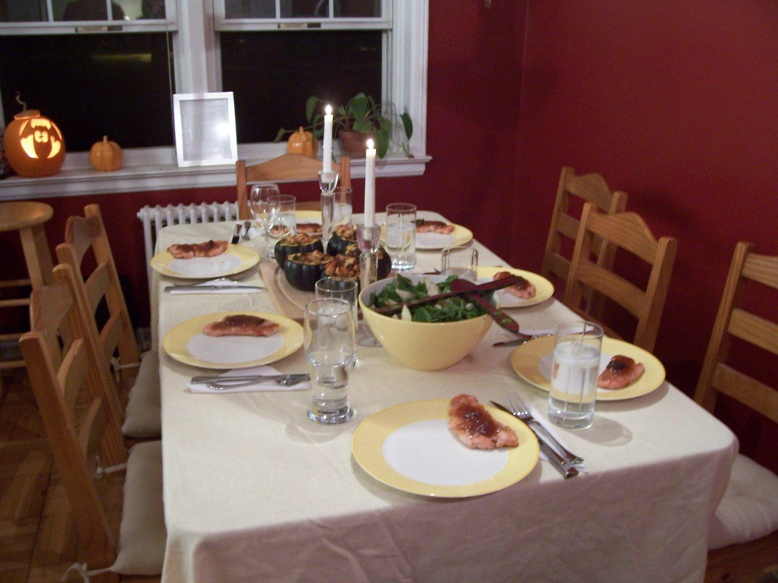 Kitchenette Fall Family Dinner