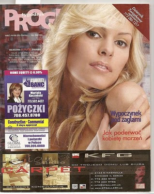 ZARZAR ANGEL Nina Baprawska Magazine Covers!