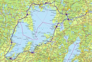 Vanern Runt Karta Karta 2020