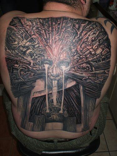 Gieger Tattoos Designs: Tattoo Design Ideas: Giger Tattoo Designs