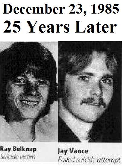 Michael Rubin: Judas Priest, Ray Belknap, and James Vance: 25 ...