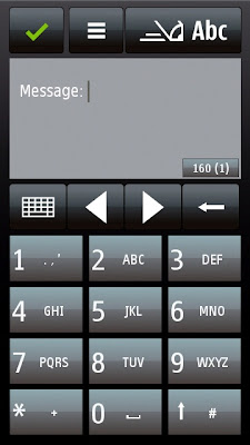 Different QWERTY and Alphanumeric keypad layout when in