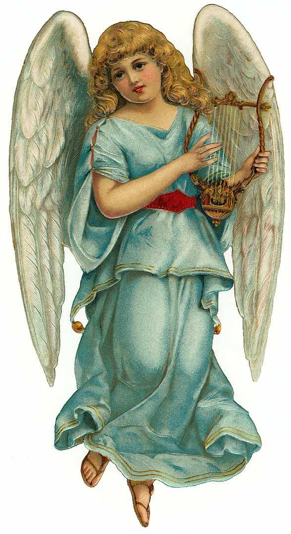 Cards Scrapbooking and Art: Vintage Angel & fairies (29)