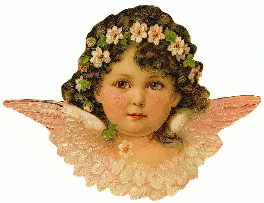 Cards Scrapbooking and Art: Vintage Angel & fairies (36)