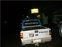 76ea3059eb Policiais militares da guarnição Tático Móvel realizavam ronda no início da  madrugada desta terça-feira (16) na avenida Eduardo Fróes da Mota