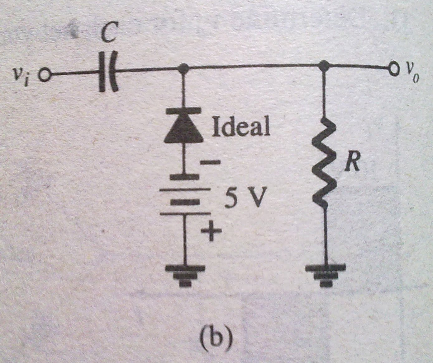 circuit diagram of clipper and clamper 1996 acura integra speaker wiring diode applications clamping circuits easy e
