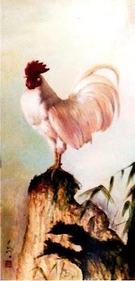 Tentang Ayam Jantan Putih