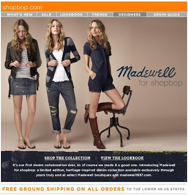 16d94492a7a91 J.Crew Aficionada  Madewell Email  Introducing Madewell for shopbop ...