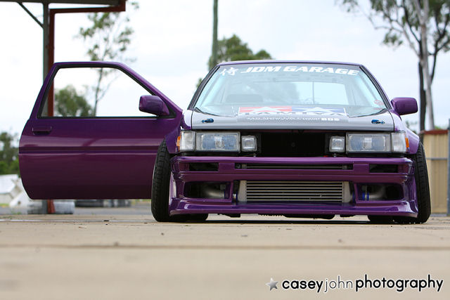 Toyota AE86 old But Popular