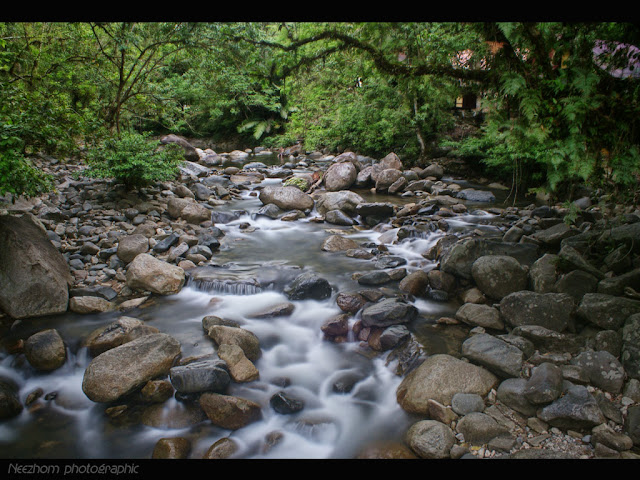 gambar air terjun sekayu