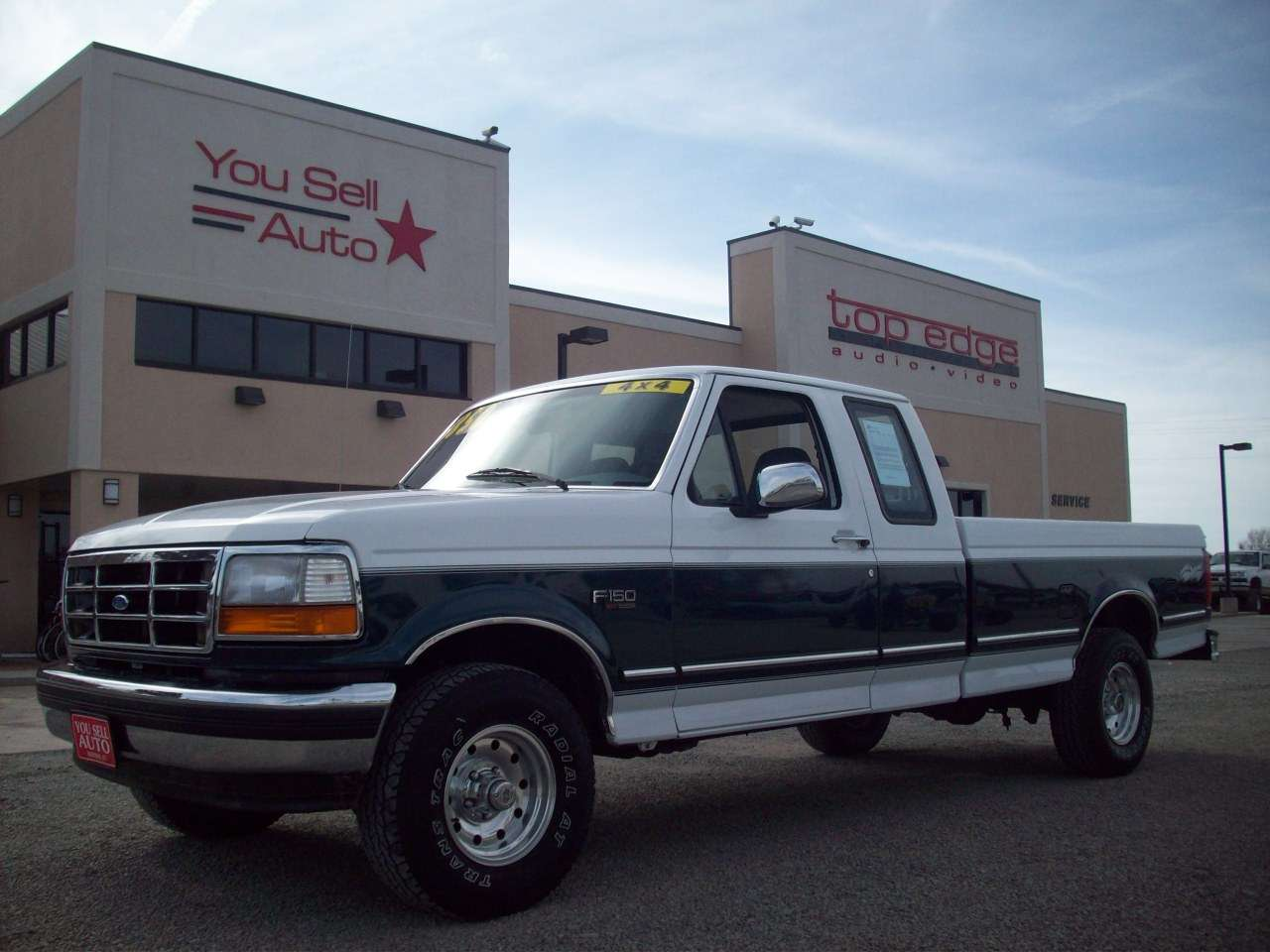 medium resolution of 1995 ford f150 xlt 4x4 extended cab pickup sold