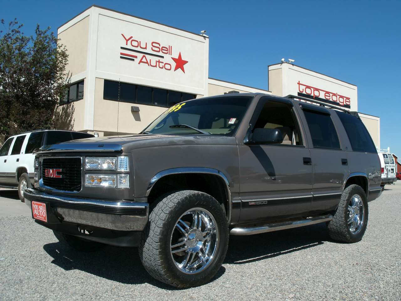 you sell auto 1998 gmc yukon 1500 sle 4x4 you sell auto