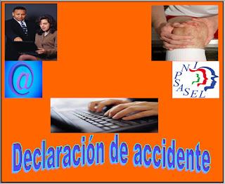 Declaración de accidente laboral 1